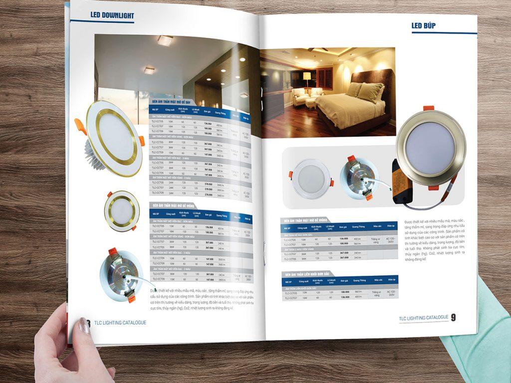 In Catalogue Công ty Thiết Bị điện