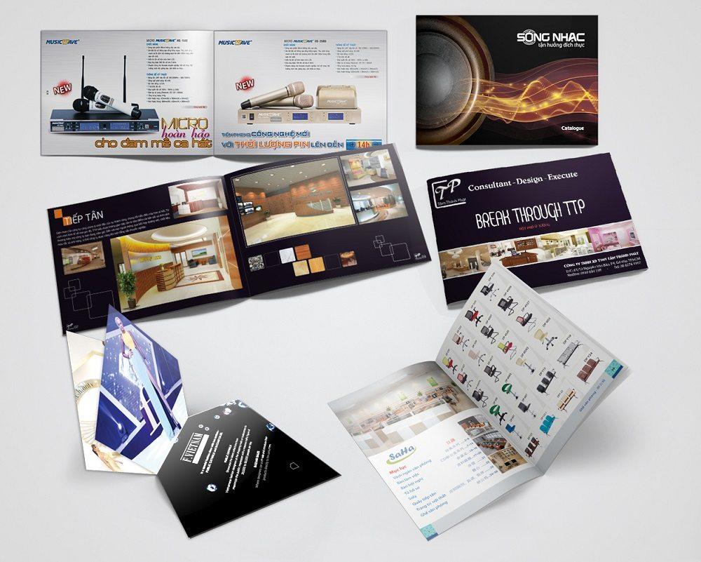 In catalogue công ty thiết bị điện tử