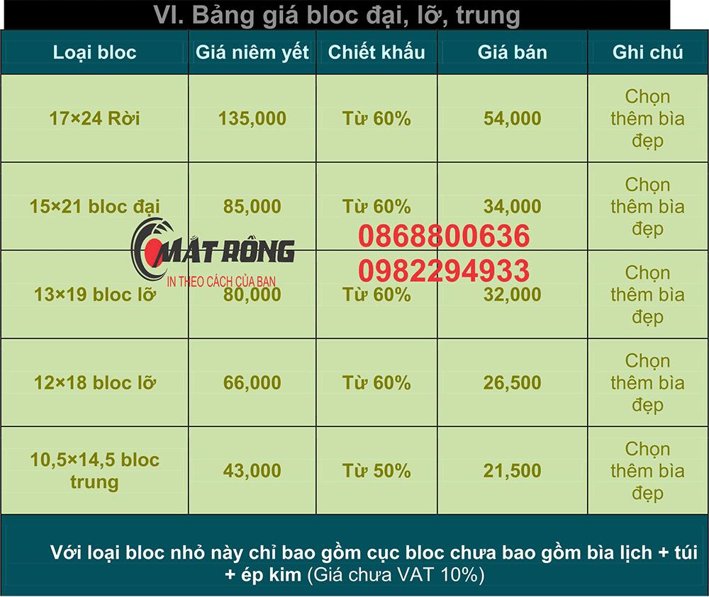 Bảng-giá-block-đại,-lỡ,-trung tại hcm