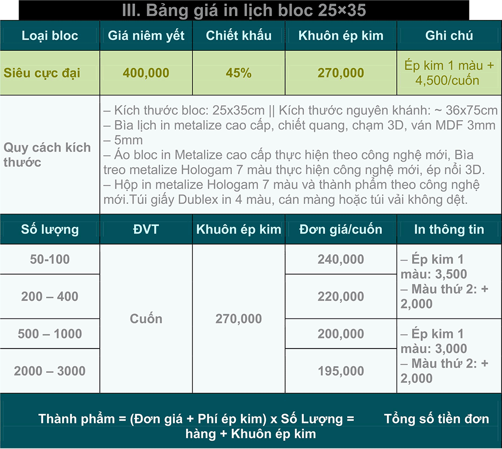 Bảng-giá-in-lịch-block-25x35 tại hcm